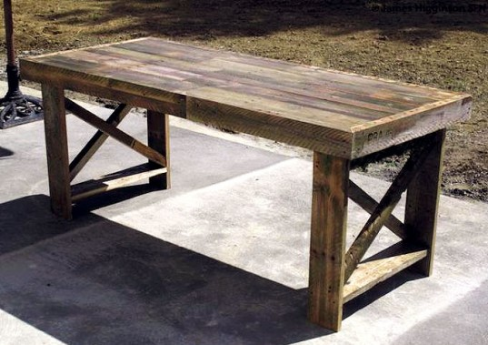 Pallet Table 537x379